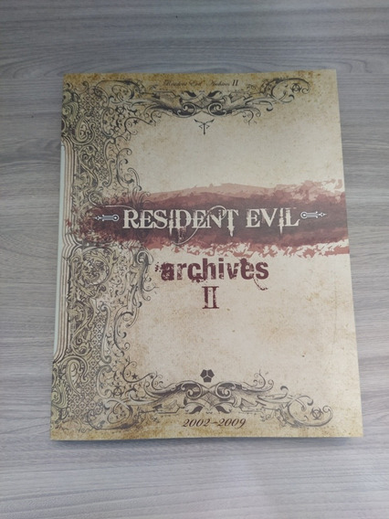 Livro Resident Evil Archives 2 (impecável)