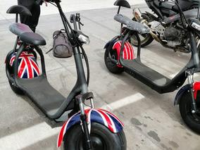 Scooter Eléctrica Estilo Moto Chopera 2019
