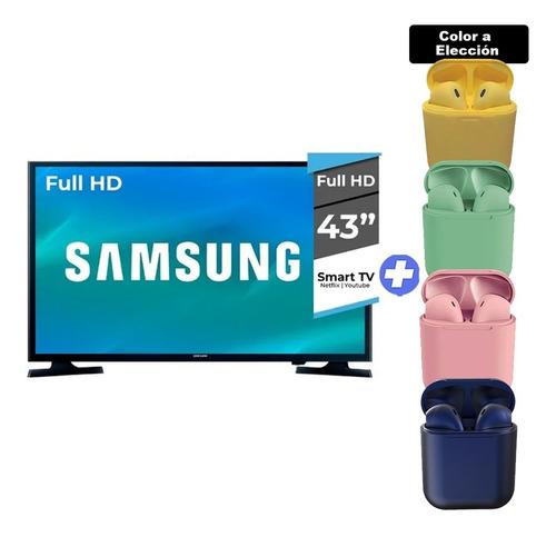 Televisor Smart Tv Samsung 43 Full Hd+auriculares Gta. Ofic.