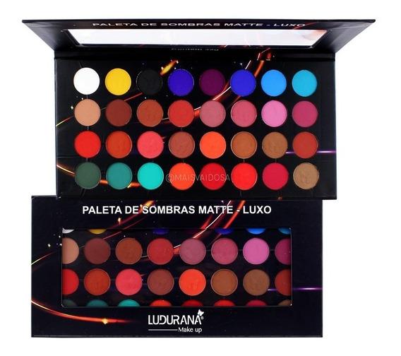 Paleta De Sombra Luxo Ludurana 32 Cores Matte Lançamento