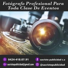 Fotografo Profesional Para Toda Clase De Eventos