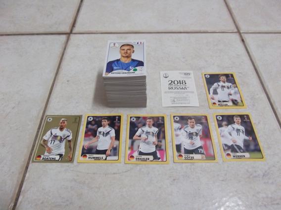 Lote Com 536 Figurinhas Diferentes Copa 2018 - Nunca Coladas