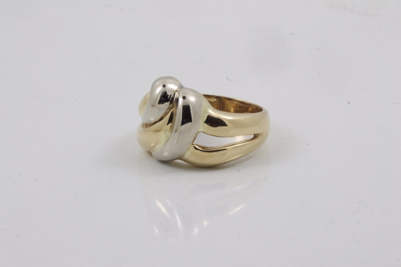 Anel Duo Ouro 18 K