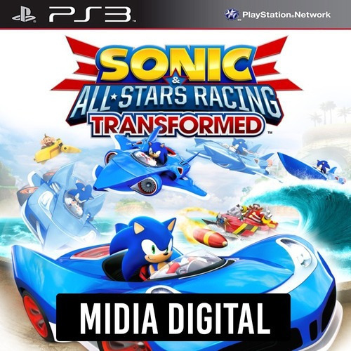Sonic & All-stars Racing Transformed - Ps3 Psn*
