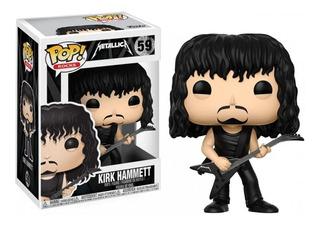 Funko Pop Rocks Metallica Kirk Hammett #59