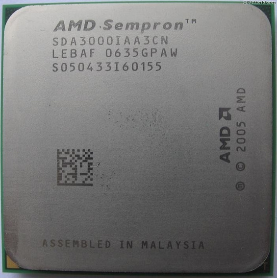 Processad 3000+ Amd Sempron 1.6ghz Socket Am2 Envio T.brasil