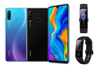 Huawei P30 Lite / 4gb + 128gb + Honor Band 5 / Oferta Tienda