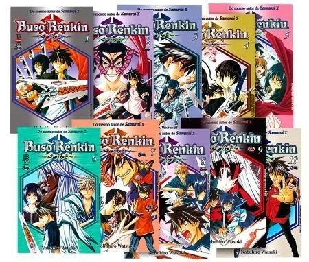 Mangá Buso Renkin 10 Volumes