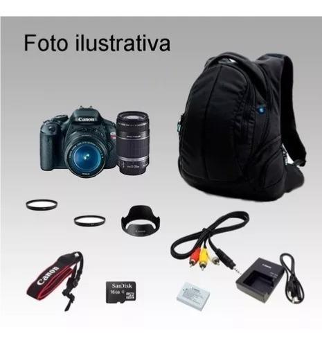 Camera Fotográfica Filmadora Canon T3i , 337 Clicks Objetiva