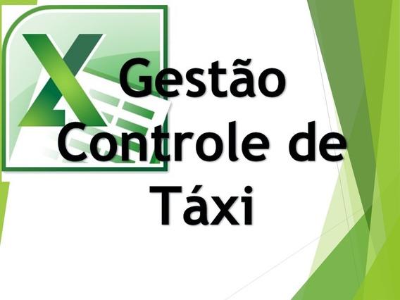 Gestão Controle De Taxi - Excel Planilhas Avançadas