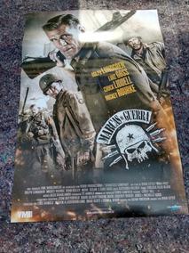Poster Cartas Locadora Marcas Da Guerra Luke Goss