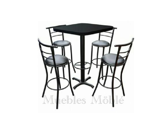 /Ø: 60 mm cromado tornillos de fijaci/ón IB-Style 110 cm con 2 cm ajustable ajustable en altura forma: ronda Lote de 4 pies de mesa//meubles incl 18 variaciones