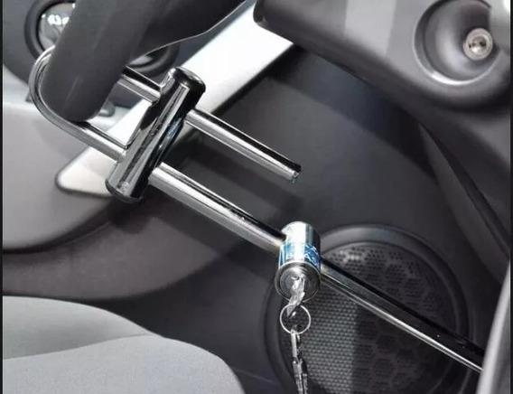 Trava P/ Carros Feita Em Aço Maciço Máxima Segurança