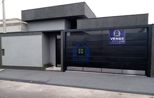 Casa Com 3 Dormitórios À Venda, 130 M² Por R$ 350.000 - Bosque Das Larajeiras - Bady Bassitt/sp - Ca2553