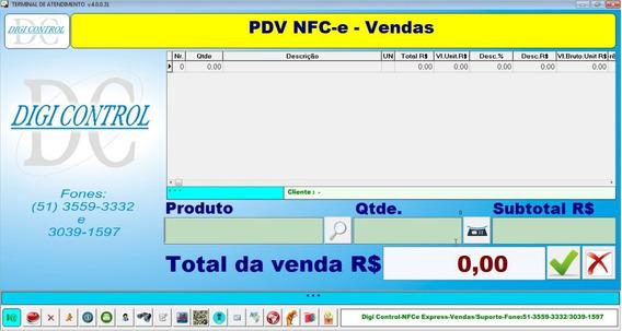 Software Programa Cupom Eletrônico Nota Consumidor Nfce Nfe