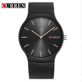 Relógios Masculinos Curren Social Luxo Aço Prova Dágua Promo
