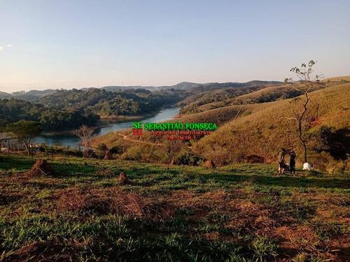 Excelente Terreno Com Bela Vista Para Represa Em Jambeiro - 1765