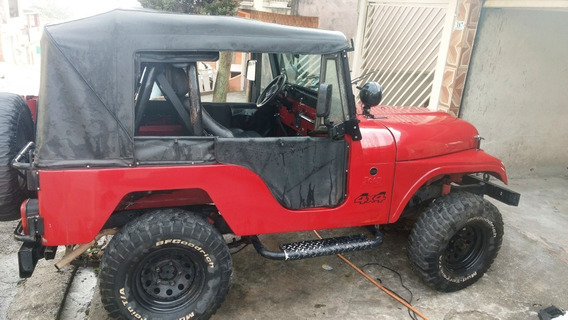 Jeep Cj5 Ford Willys Vendo Ou Troco