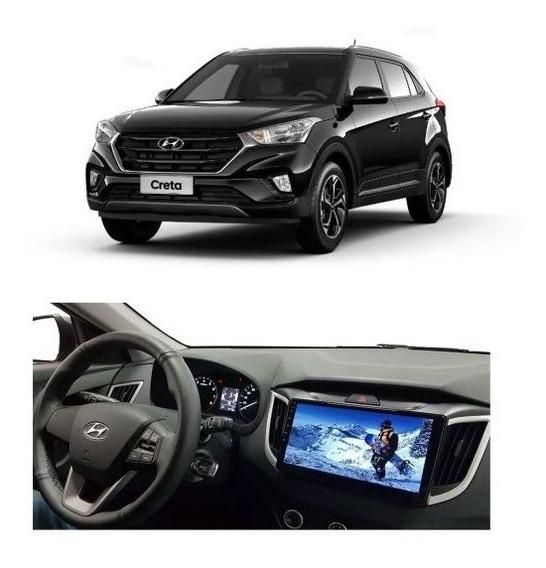Multimídia Hyundai Creta Pcd 10 Car Pad Orbe - Octa Core