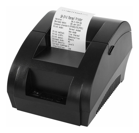Impresora Térmica De Recibos / Etiquetas / 58 Mm Esc / Pos.