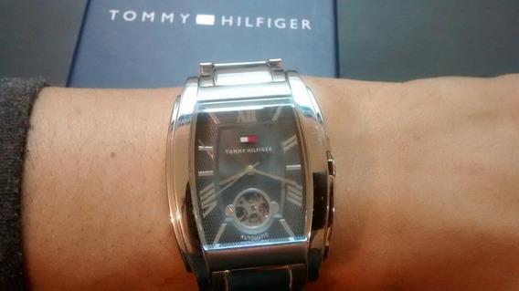 Relogio Tommy Hilfinger Aco Automatico Original Movado