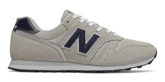 Tênis New Balance Ml373ac2 373 Casual Cinza Masculino