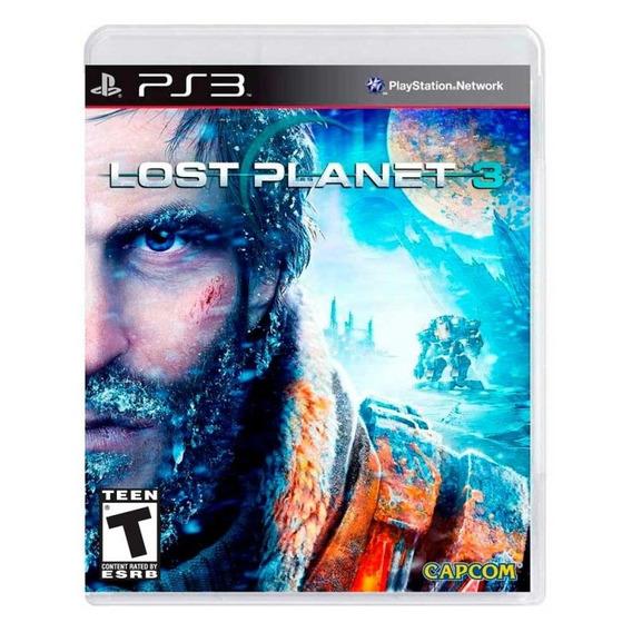 Lost Planet 3 Ps3 Fisica Lacrado Nfe