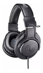 Fone De Ouvido Profissional Audio Technica Ath M20x