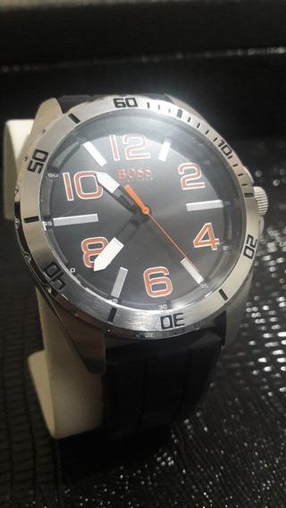 Impecável Relógio Da H. Boss