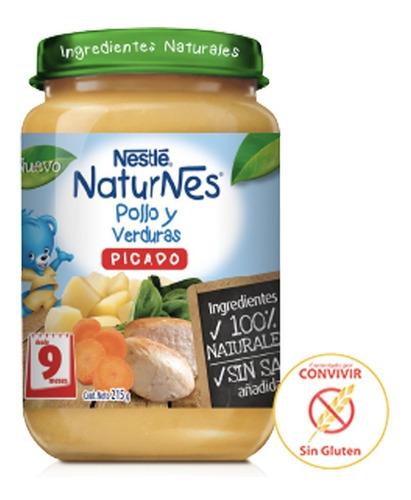 Picado Pollo/verduras Nestle 215grs (6 Unidades)