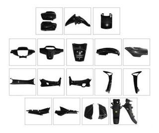 Kit Plasticos Honda Wave Cachas 18 Piezas Hasta 2012 Full