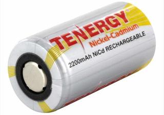 Sub C Batería Recargable Nickel Cadmium Marca Tenergy Subc