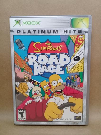 The Simpsons Road Rage Xbox Clássico Original