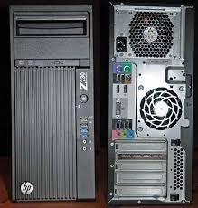 Workstation Hp Z230 Sff Xeon Quad Com 8gb Ram E 320gb Hd