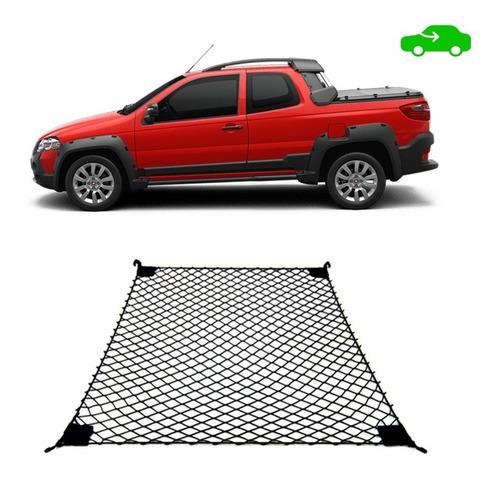 Imagem 1 de 4 de Rede De Carga Para Caçamba Fiat Strada Cd Todas Versões