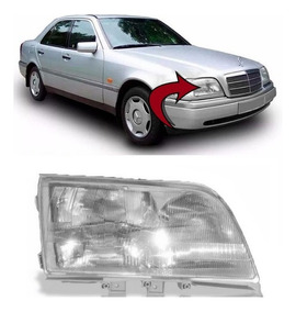 Farol Mercedes C180 C220 C280 Ano 1994 1995 1996 Direito