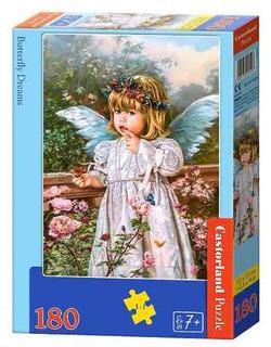 Rompecabezas Castorlandbutterfly Dreams(180 Piezas) Aaa