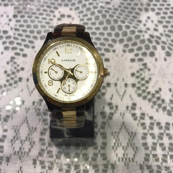Relógio Feminino Lince Smp4124l B2mk Multifunção