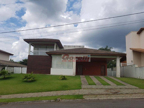 Casa Com 4 Dormitórios À Venda, 353 M² Por R$ 1.500.000,00 - Reserva Ibirapitanga - Santa Isabel/sp - Ca1017