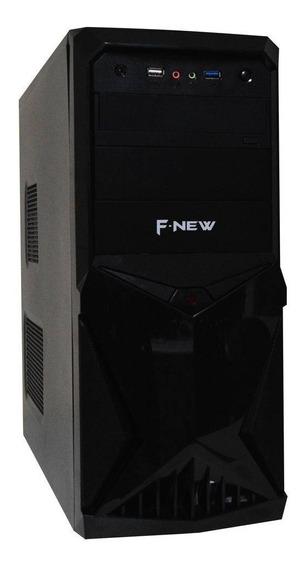Cpu Nova Intel Core I5 4gb Ssd 240gb Fonte 500w Real Dvd