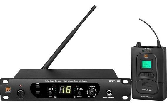Sistema Monitor Sem Fio Staner Srm-1e Srm-1r In Ear