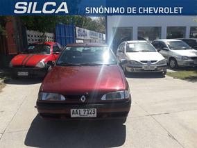 Renault R19 Rl 1.4 1996 Rojo 4 Puertas