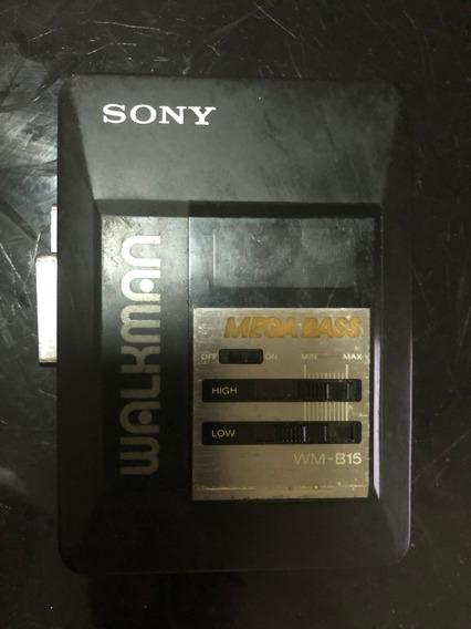 Walkman Sony Wm- Wm -b15 Nao Ligar