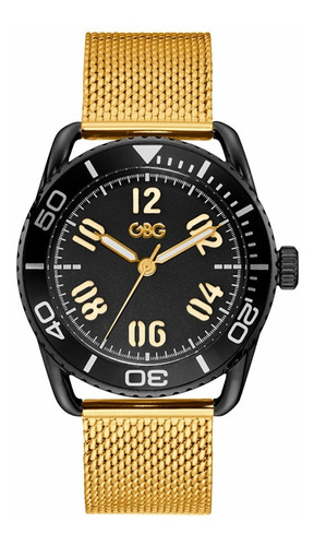 Reloj G By Guess Voyager Caballero G11955g1 Oro Rosa