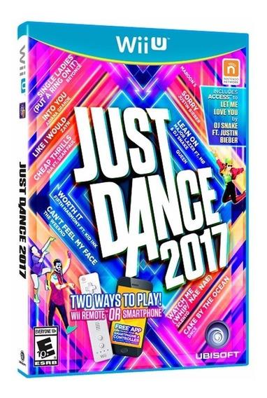 Just Dance 2017 - Midia Fisica - Lacrado - Nintendo Wii U