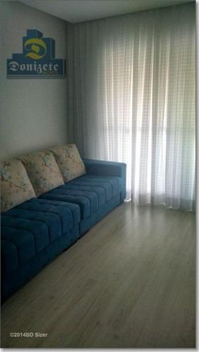 Apartamento Com 3 Dormitórios À Venda, 84 M² Por R$ 510.000,00 - Centro - São Bernardo Do Campo/sp - Ap3832