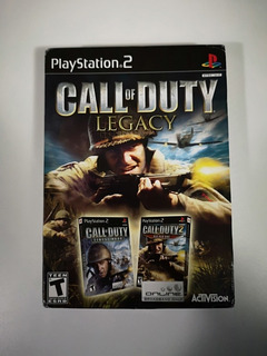 Pack Call Of Duty Legacy Ps2 Nuevo Sellado