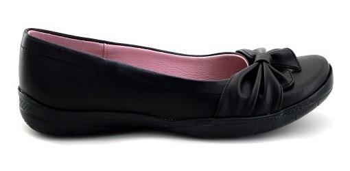 Zapato Escolar Tropicana Para Niña 74008 Negro [tro783]