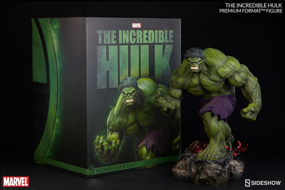 Estátua Marvel The Incredible Hulk Premium Format - Sideshow