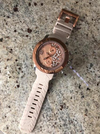 Reloj Mulco! 2 En Existencia Beige Y Negro